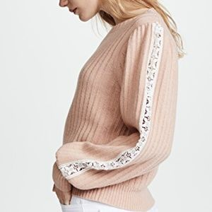 See by Chloe Pullover Cameo rose sweater